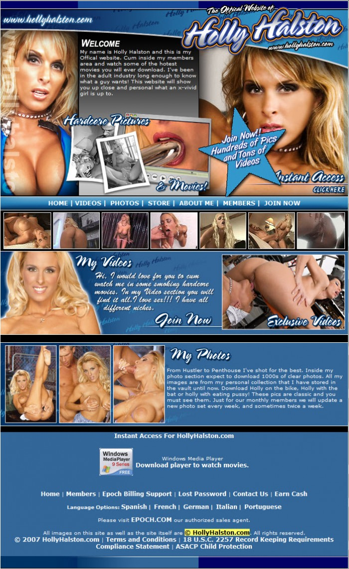 holly halston official site