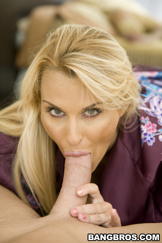 Holly Halston Sucking His Cock